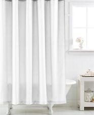 Item 4 Martha Stewart Collection Micro Diamond Fabric Shower Curtain In White 72 X