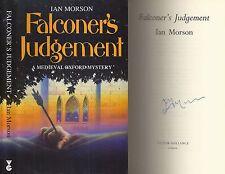 Ian Morson - Falconer's Judgement - Signed - 1st/1st