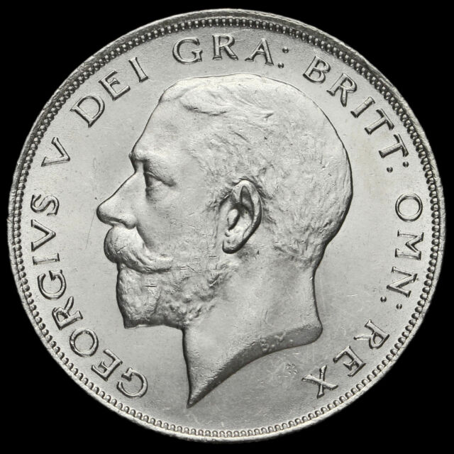 1923 George V Silver Half Crown, Scarce