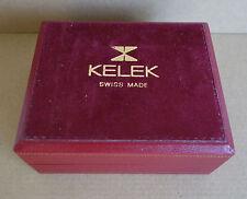 Kelek Watchbox Uhrenbox Vintage (Breitling related Brand)