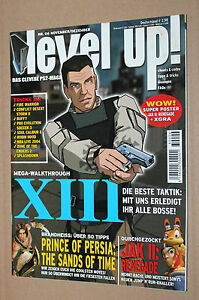 Magazin-Heft-Ausgabe-06-Level-Up-XIII-Resident-Evil-Jak-II-Clock-Tower-Aliens