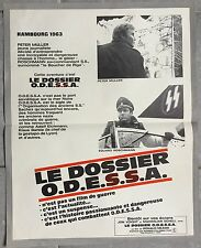 Affiche LE DOSSIER ODESSA Odessa File JON VOIGHT Ronald Neame 40x60cm *