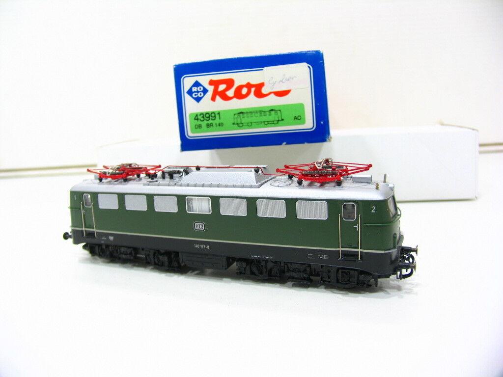Roco 43991 e-Lok br 140 verde de la DB ac fp1382