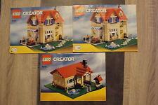 LEGO Creator notice n° 6754 - Livret n°1 & 2 - La maison de famille