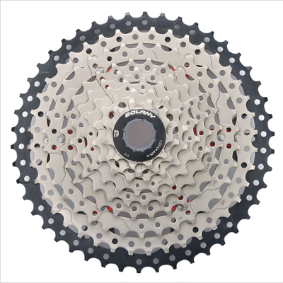 Sporting Goods Amiable Bolany Mtb 9 Speed Cassette 11-46t Mountain Bike Freewheel Bicycle Parts 489g Suitable For Men And Women Of All Ages In All Seasons