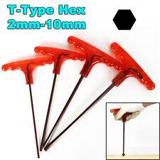 2mm 10mm T Type Hexagon Screwdriver Socket Hexagon Key Wrench Screws Drive Tools