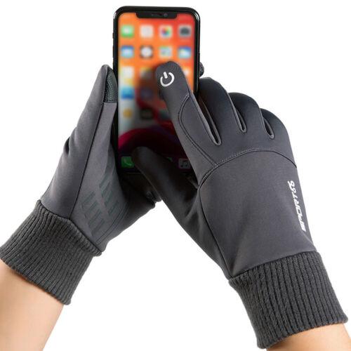 Samt Handschuhe Touchscreen Außen Reiten Wasserdicht Winter Haltbar