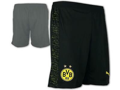 Puma Bvb 09 Away Short Schwarz Borussia Dortmund Sporthose M.innenslip Gr.s - Xl Online Rabatt