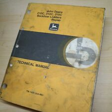 John Deere 210c 310c 315c Backhoe Loader Repair Shop Service Technical Manual