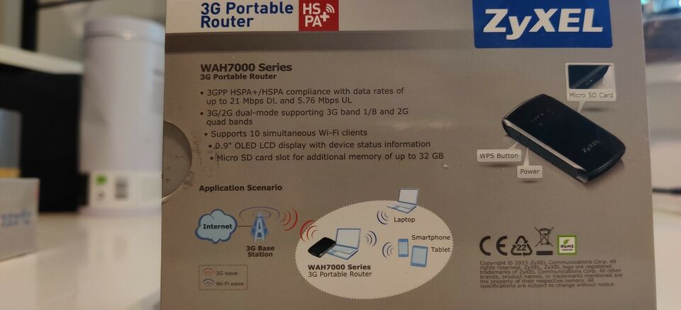 Router, WAH7003 3G, Perfekt