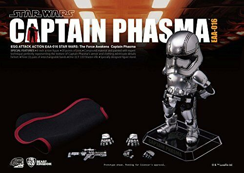 Egg Attacco Azione  005 005 005 Estrella Guerras The Force Awakens Capitano Phasma Statuetta 757fe9
