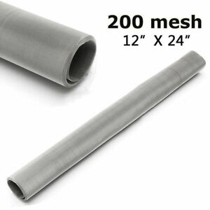 200-Mesh-Filtration-Woven-Wire-75-Micron-304-Stainless-Steel-Fine-Pollen-Screen