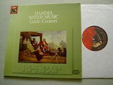 EMI Reflexe Digital HANDEL Water Music Linde-Consort vinyl LP