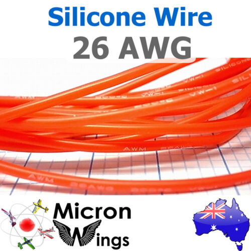 By The Metre 26AWG Silicone Wire Cable for RC LIPO