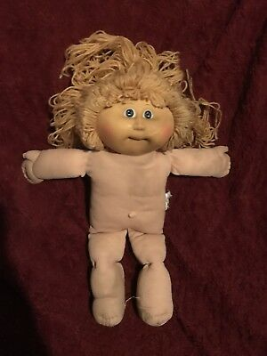 1984 Cabbage Patch Doll Girl Lustrous Surface