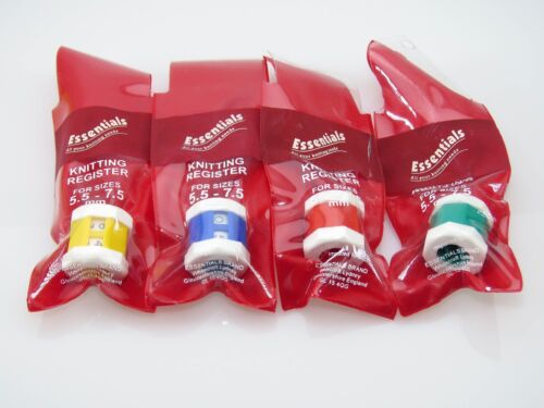 Essentials Knitting Register For Needle Sizes 5.5 to 7.5 mm H