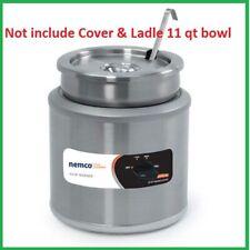 Nemco 6101a 11 Qt Countertop Round Soup Warmer Thermostatic Controls 120v New