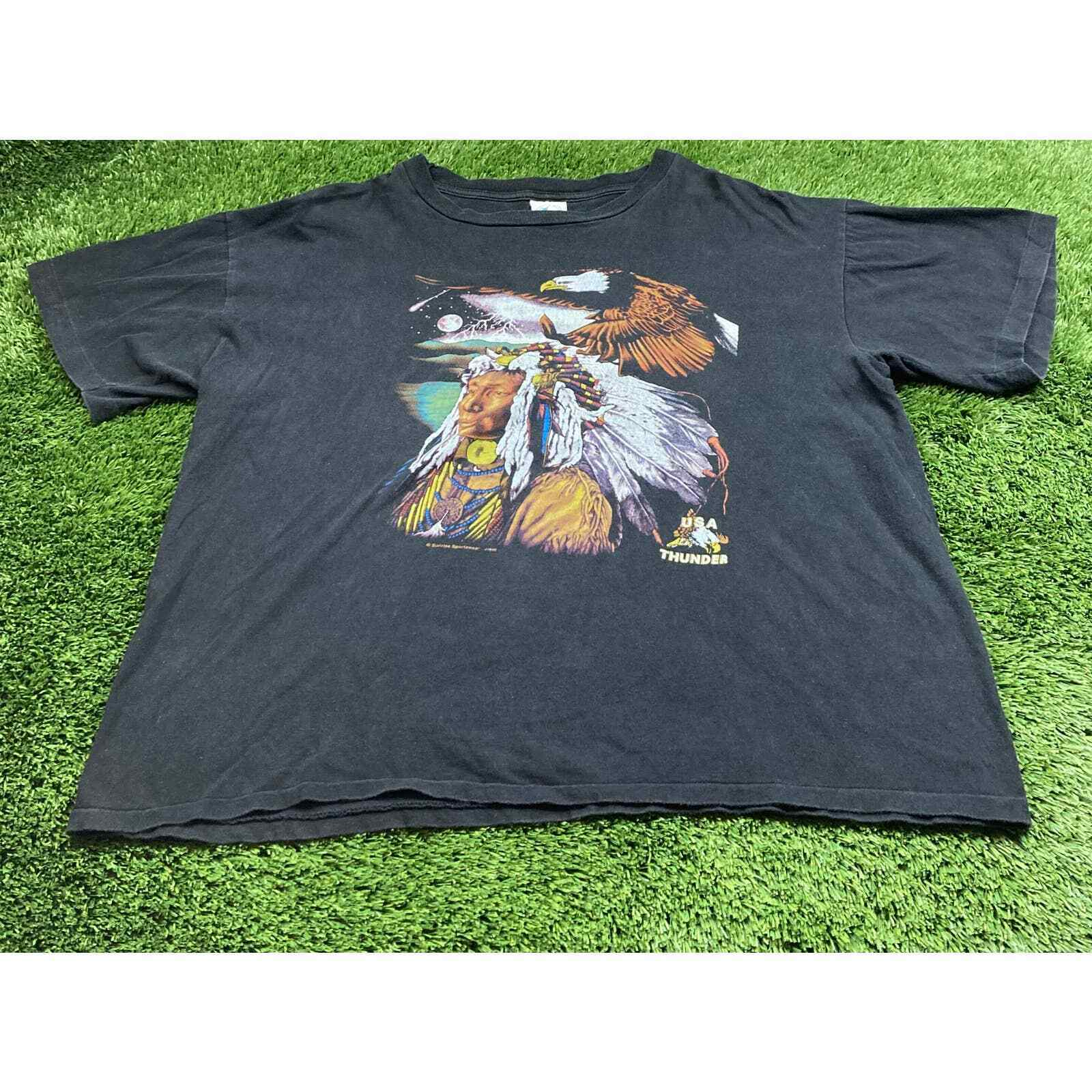 Neon WILD /& FREE Chief T-shirt-Small