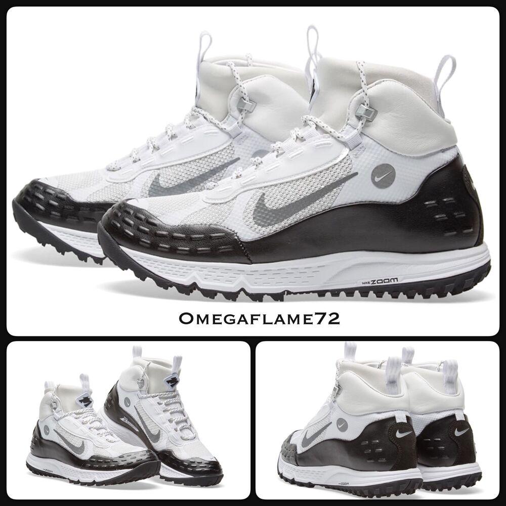 Nike Air Zoom Sertig 16 Blanc, Noir, Gris 904335-100 UK 5, eu 38, US 5.5, ACG-