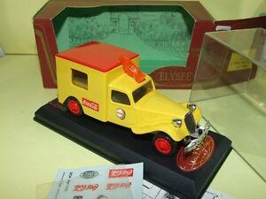 Citroen Traction 11 Barres automobiles Coca Cola Elysée 518 1:43