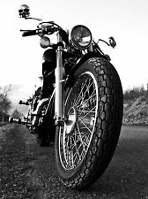 ART PRINT POSTER PHOTO MOTORBIKE MOTORCYCLE FRONT VIEW LFMP1268