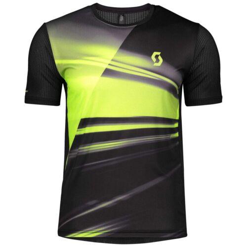 Scott RC Run Shirt Funktionsshirt schwarz gelb