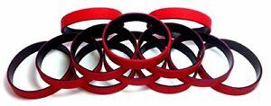 TheAwristocrat-1-Dozen-Multi-Pack-BLANK-Rubber-Wristbands-12-Silicone-Bracelets