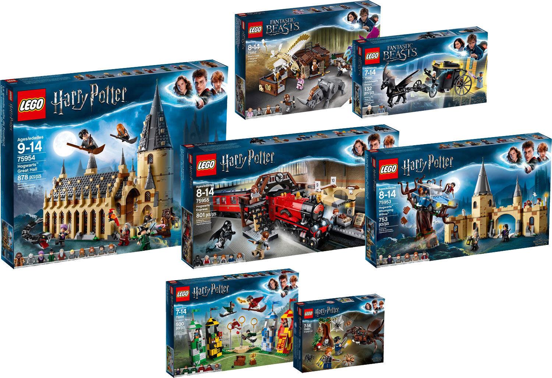 LEGO Harry Potter Fantastic Beasts 75956 75955 75954 75953 75950 75952 N10 18