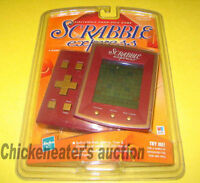 Hasbro Scrabble Express Electronic Handheld Game Hand Held Travel Toy Fun