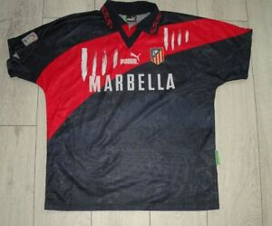 Atletico Madrid 1995 1996 Away Football Puma Shirt
