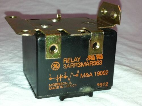 GENERAL ELECTRIC GE ELECTROMAGNETIC RELAY 3ARR3 B2M5 NSN 5945-01-097-1751 NOS