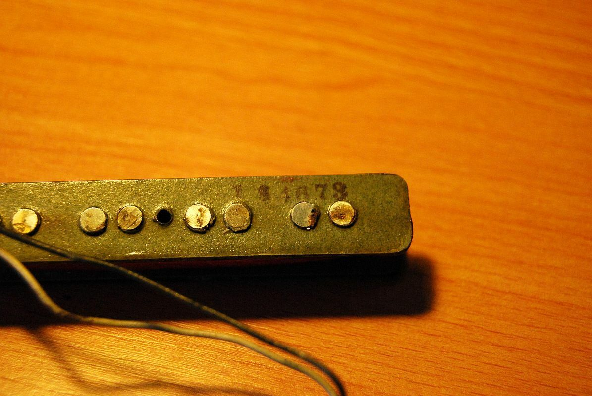 1973 Fender Jazz Bass Bridge Pick up.