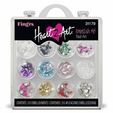 Fing'rs Heart 2 Art Finger Nail Art Embellishments Kit #31179 Embellish Me!