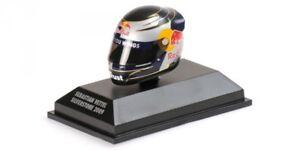 Helmet-Arai-Sebastian-Vettel-Silverstone-2009-Replica-1-8-Model-MINICHAMPS