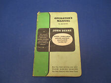 John Deere Opr. Manual No.OM-C23-950 Steel Portable Grain&Hay Elevator Series 50
