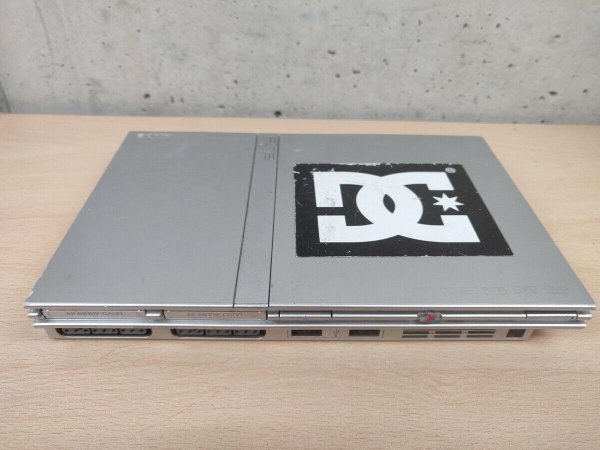 videogiochi e console: PLAYSTATION 2 PS2 SLIM SILVER SCPH-70004 – SOLO CONSOLE – NON FUNZIONANTE PER…