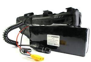 Radsport Fahrradteile & -komponenten ENERpower Softpack Akku Li-Ion 36V 10S2P 30Q 6Ah Pedelec Range Extender 5x4 DC