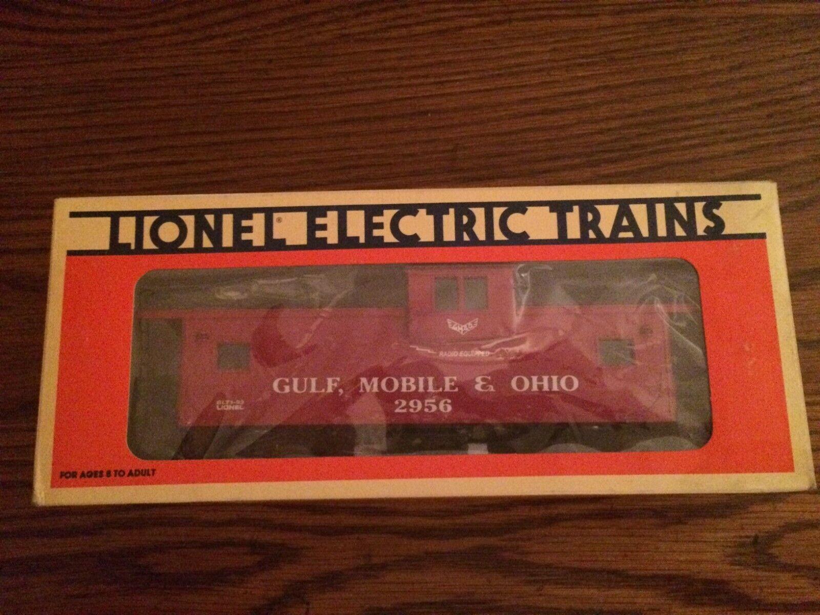 Lionel 19721 Gulf Mobile & Ohio visión extendida Furgón De Cola Nuevo En Caja