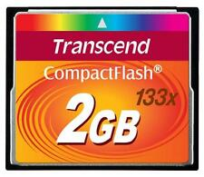 Scheda da 2GB Transcend CompactFlash 133 x velocità Flash Memory