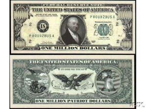Set of 100 Pirate Doubloon Million Dollar Bill