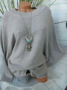 A Pullover Toni Grigio 40 Tgl 083 Nuovo Righe Donna Sheego 5OqdUw5