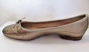 Unuetzer-Ballerinas-6968-Metallic-Movie-Hochwertiges-Leder-Bronze-Metallic-Look