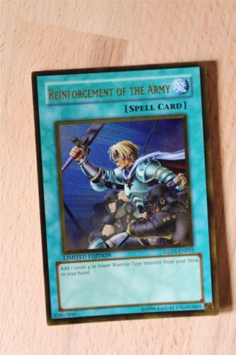 Singles//Playset GLD1-GLD5 Gold Series 1-5 Gold /& Ghost Rare Yugioh Cards