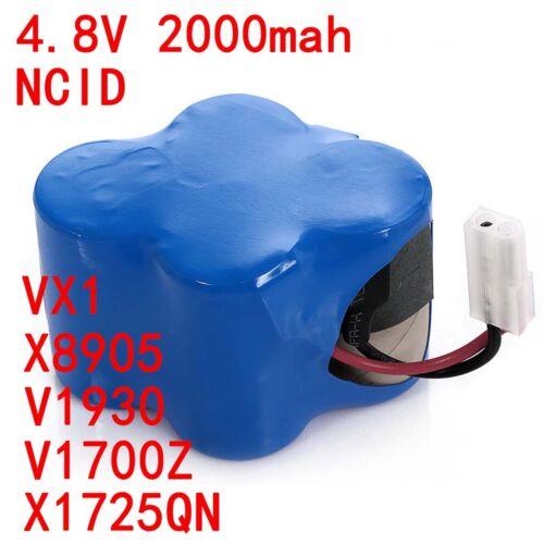Replacement Shark V1700Z V1930 Cordless Sweeper Battery Part # X1725QN 2.0//3.0AH