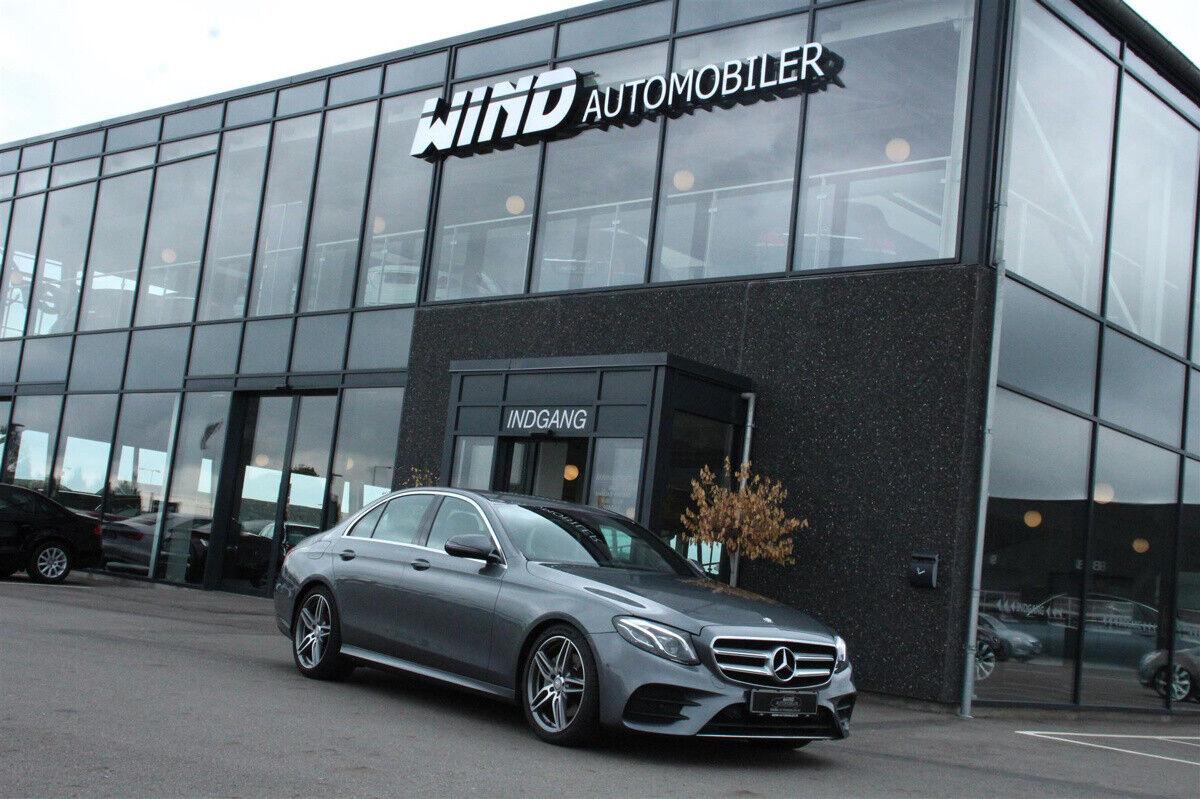 Mercedes E220 d 2,0 AMG Line aut. 4d - 419.900 kr.
