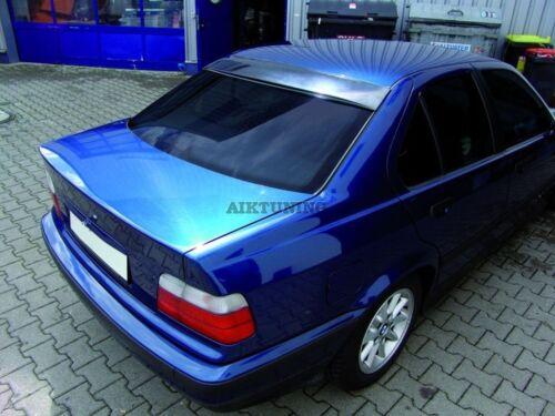 BMW E36 Sedan Rear Window Sunguard Roof Spoiler Extension Deflector Visor