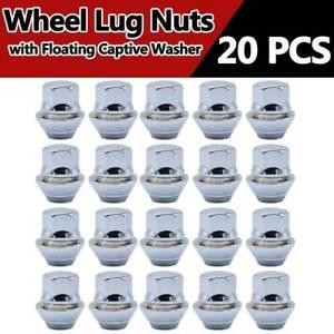 20-X-Alloy-Wheel-Nuts-For-Ford-Focus-Mk1-Mk2-Mk3-M12-X-1-5-19MM-Bolt-Lug-Stud