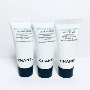 3pc Chanel Hydra Beauty Micro Cream Gel Cream 5ml 17 Fl Oz Each Ebay