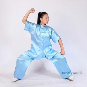 8-Colors-Kids-Adults-Tai-chi-Uniform-Martial-arts-Kung-fu-Wing-Chun-Suit-Clothes