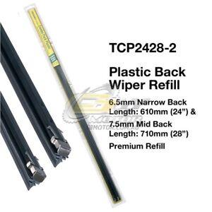 TRIDON-WIPER-PLASTIC-BACK-REFILL-PAIR-FOR-Daihatsu-Terios-10-00-12-06-24-034-28-034